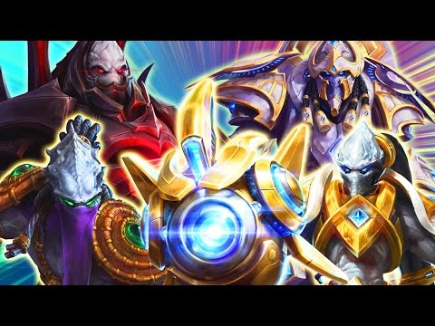 Theme Teams: Protoss | Additional Pylons Sold Separately | MFPallytime Heroes of the Storm Gameplay