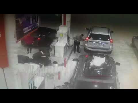 """Несчастный случай на АЗС """"Лукойл""""  Когалым."""