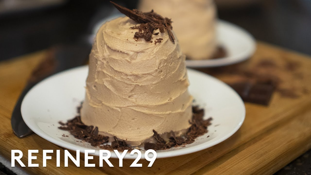 A Pro Chef Bakes Chocolate Cake In A RV   Good Chef, Bad Kitchen   Refinery29