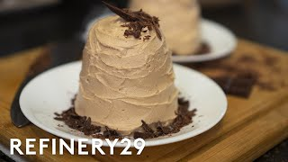 A Pro Chef Bakes Chocolate Cake In An RV | Good Chef, Bad Kitchen | Refinery29
