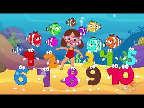 Fish In The Sea (Original) | Nursery Rhymes & Kids Songs| Easy Peasy Songs