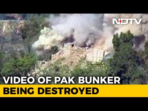 Video Shows Army Destroying Pak Bunker With Tanks, Missiles