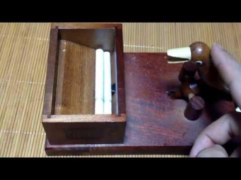 Interesting cigarette case