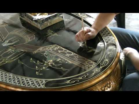 China Furniture and Arts - Handpainted Furniture: The Process and the Making