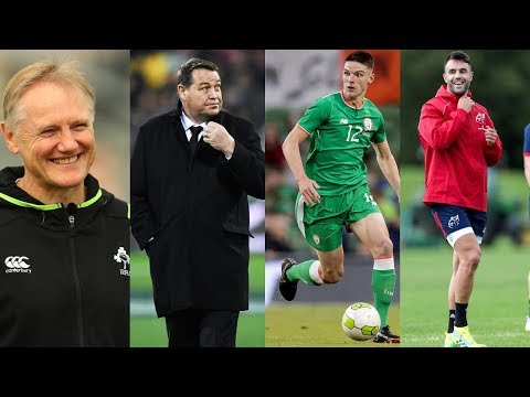 The Sports Pages | Joe Schmidt's future | Declan Rice to England | Conor Murray's return |