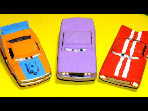 Pixar Cars Collectors Rare Cars from Cars Video Game for Sale Barry Vince and Sonny Custom Cars