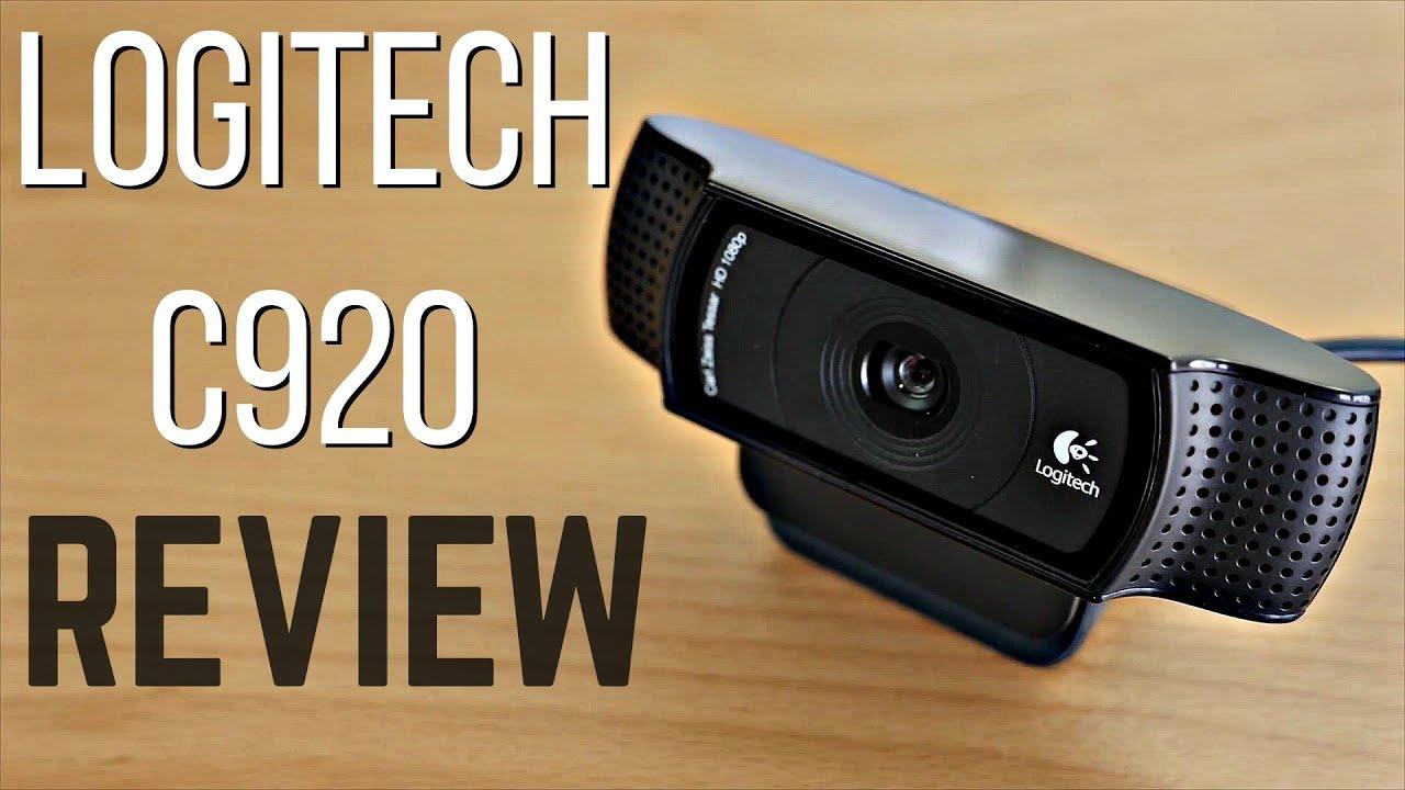 e7d1a284637 Logitech C920 HD Pro Webcam Review + Test - YouTube