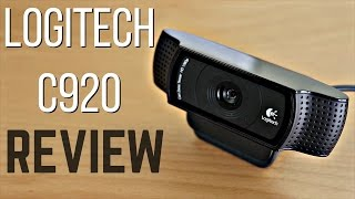 Logitech C920 HD Pro Webcam Review + Test