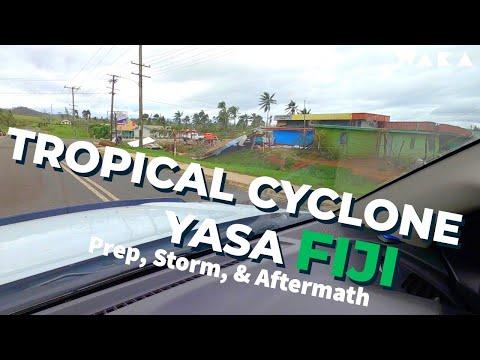 Vlog52_TC Yasa-FIJI. Prep. Storm & AFTERMATH. Vanua Levu.