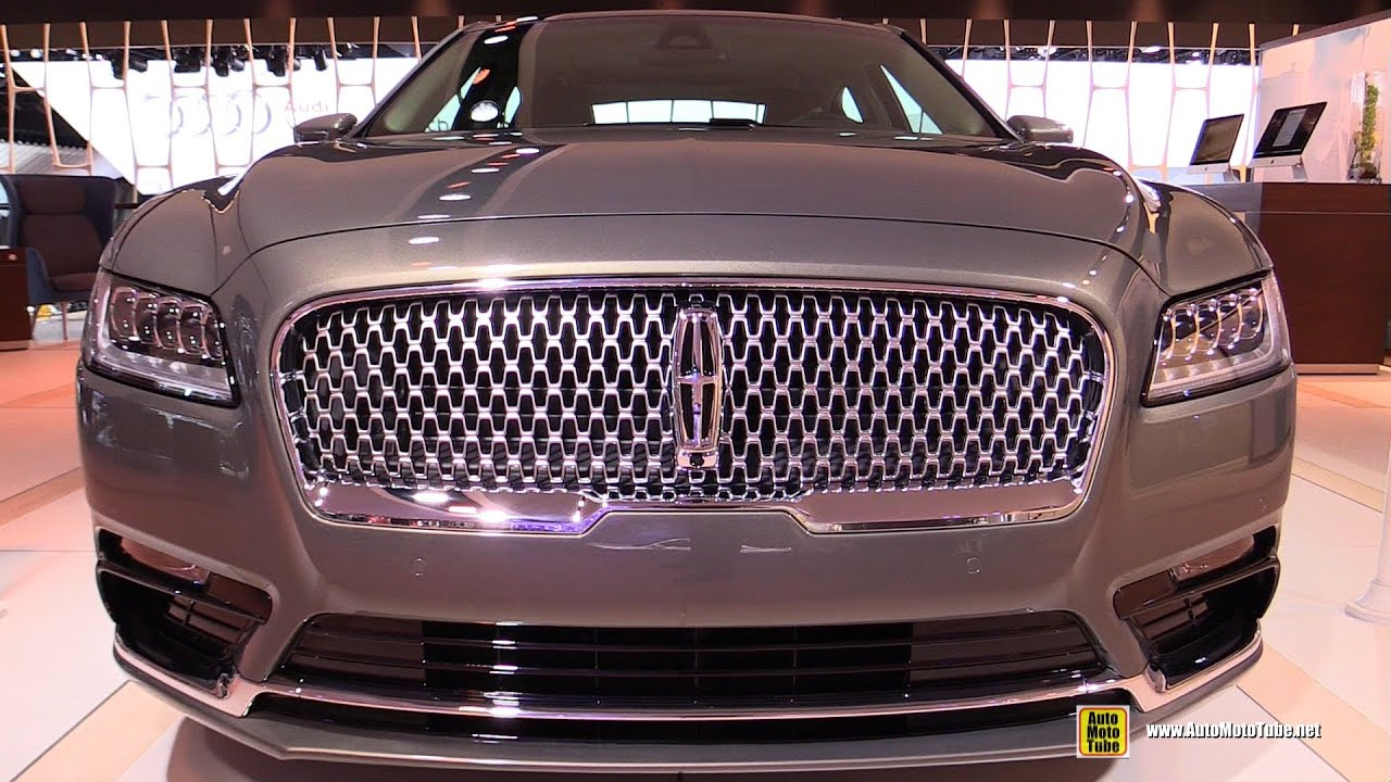 2017 Lincoln Continental Exterior And Interior Walkaround Debut