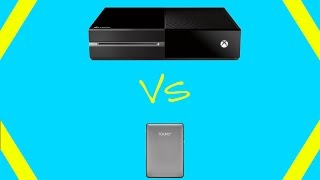 Xbox One Internal HDD VS. External HDD - Speed Comparisons!
