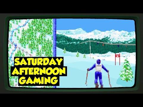 The Games: Winter Challenge (DOS & Sega Genesis/Mega Drive) - Saturday Afternoon Gaming