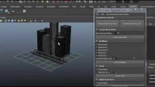 Make city quickly in maya