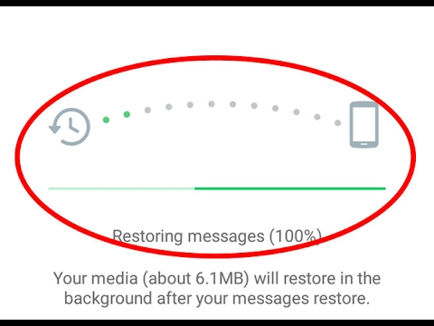 How to recover all deleted messages on whatsapp for Android Tablet
