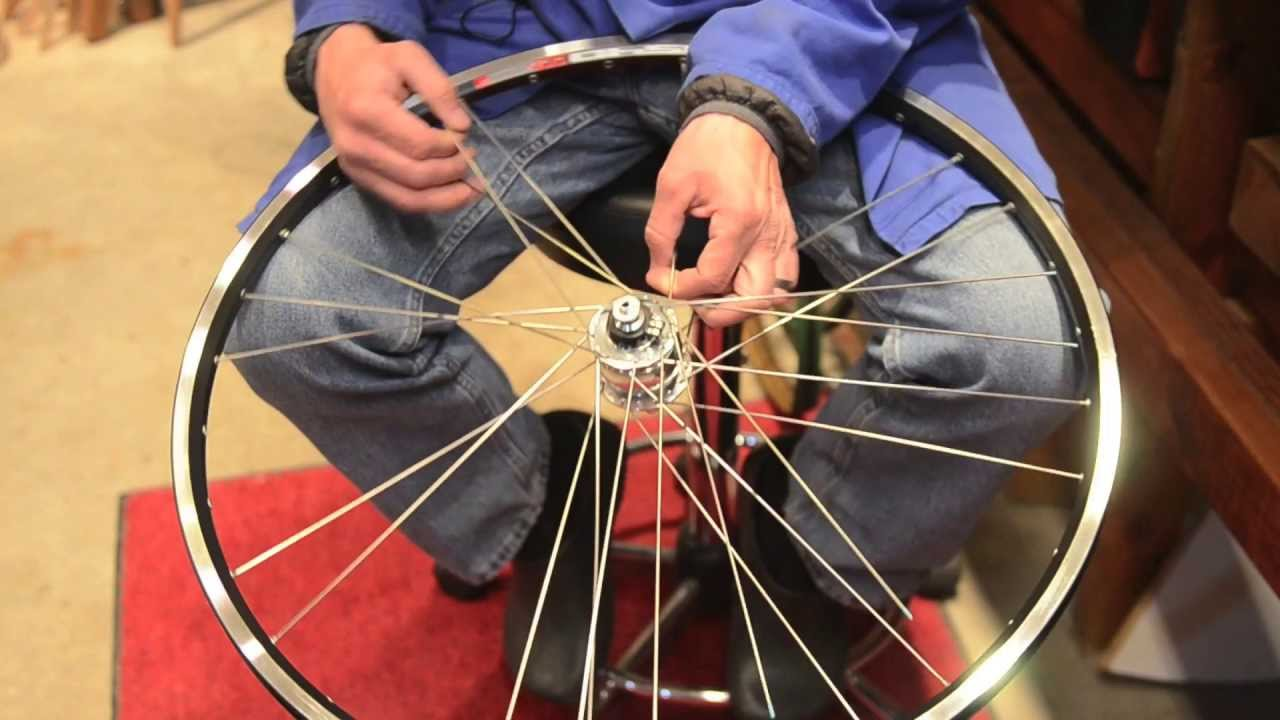 How To Build A Generator Bicycle Wheel Youtube