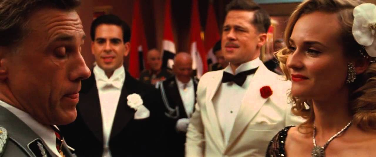 Inglourious Basterds Italian Scene - YouTube