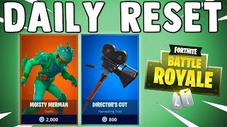 NEW MOISTY MERMAN SKIN IN FORTNITE!! Fortnite Daily Reset NEW Items in Item Shop