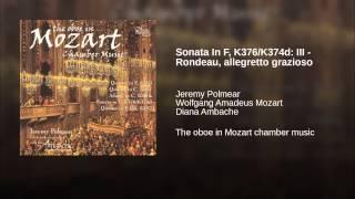Sonata In F, K376/K374d: III - Rondeau, allegretto grazioso