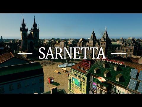 Cities Skylines - Sarnetta European Canal City