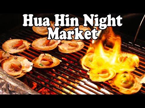 Hua Hin Night Market Tour – Seafood, Shopping and Thai Street Food at Hua Hin Night Market