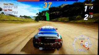 Sega Rally Online Arcade Classic mode!