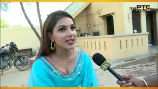 Punj Khaab | On Location shoot  | Gurpreet Ghuggi | Monica Gill | PTC Entertainment Show