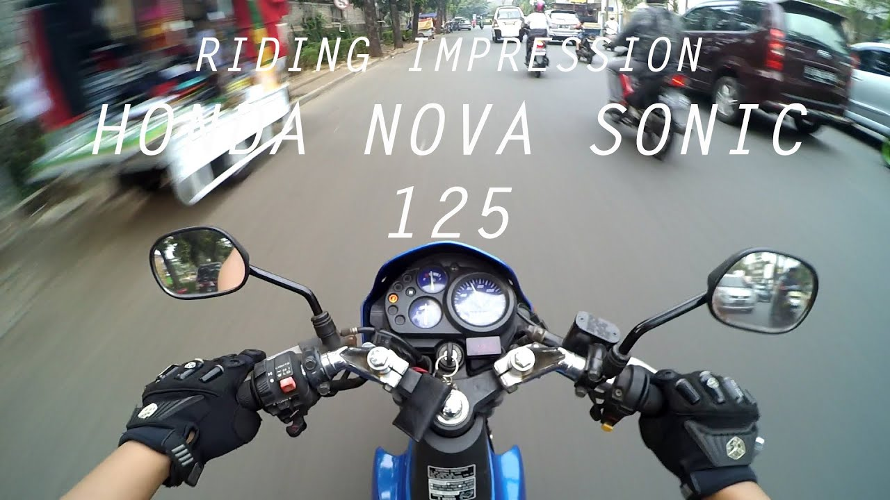 RIDINGIMPRESSION HONDA NOVA SONIC 125 MOTOVLOG ENGLISH SUBTITLE