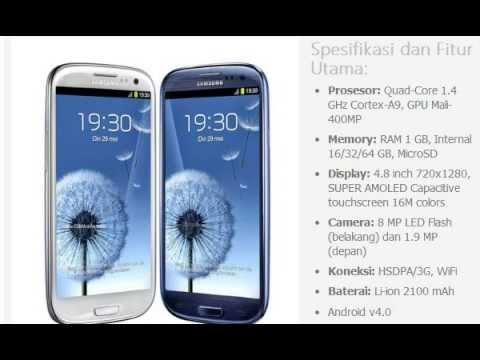Harga HP: SAMSUNG Galaxy SIII I9300