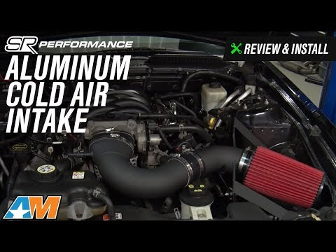 2005-2009 Mustang (GT) SR Performance Aluminum Cold Air Intake Review & Install