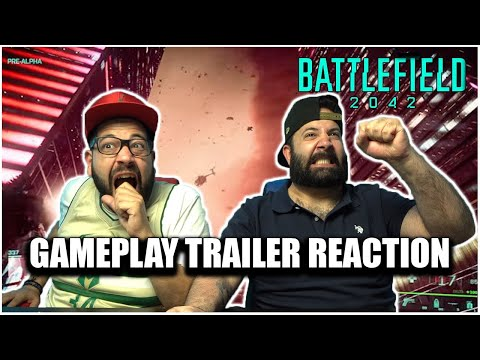 THIS GAME LOOKS BETTER THEN EVER!! Battlefield 2042 Official Gameplay Trailer *REACTION!!