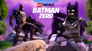 Recreating Fortnite BATMAN ZERO Poster In LEGO