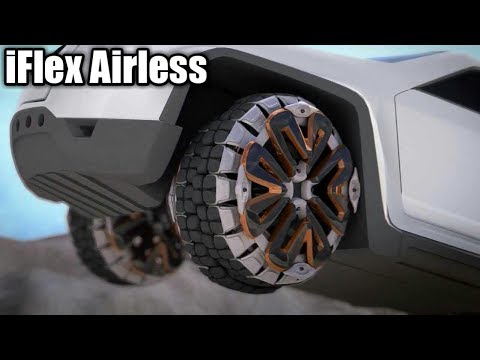 i Flex Airless Tires on Celebrity Vehicles - YouTube