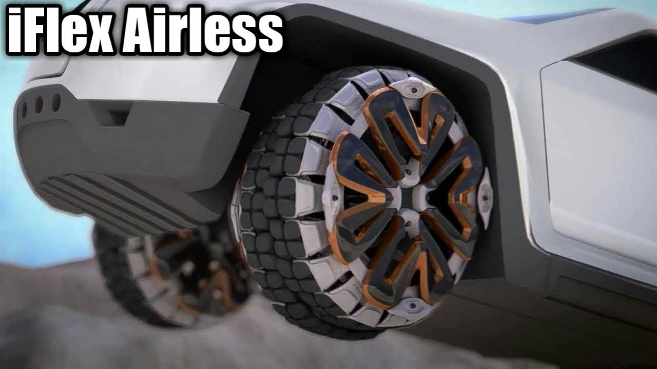 Iflex Airless Tires On Celebrity Vehicles