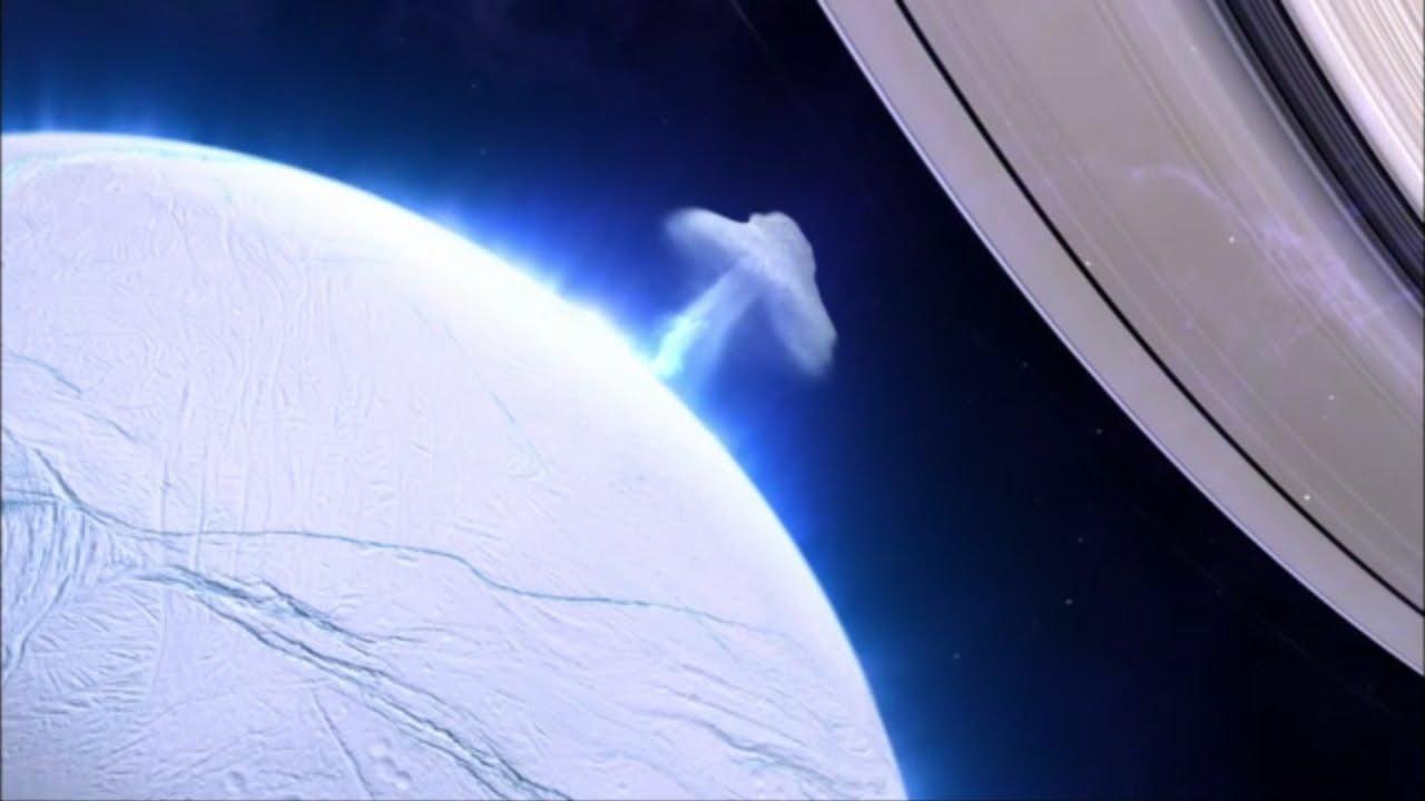Enceladus is an Active World - YouTube