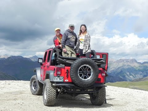 Alpine Loop Guided Jeep Tour Engineer Pass Peak 1 from Ouray