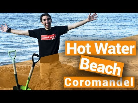 Hot Water Beach - New Zealand's Biggest Gap Year - Backpacker Guide New Zealand