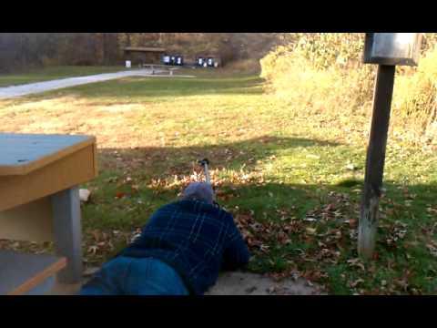 Vinnie with the Boys 50cal Rifle