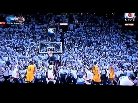 Last 24 seconds - Game 1 Miami Heat vs Indiana Pacers 2013 Eastern Conference