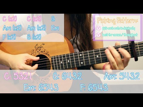 """2002"" - Anne Marie EASY Guitar Tutorial [Chords/Strumming/Picking/Cover]"