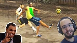 Video FIFA STREET 1 COM DENILSON SHOW, RIVALDO E ROBERTO CARLOS (PS2) download MP3, 3GP, MP4, WEBM, AVI, FLV Oktober 2018