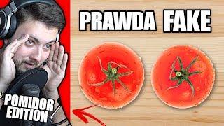 JEDZENIE z REKLAM! - PRAWDZIWE CZY FAŁSZYWE!? *Pomidor Edition*