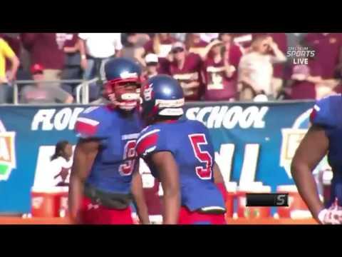 Pahokee wins the 2016 FHSAA 1A State Football title