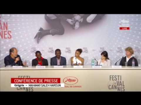 Mahamat Saleh Haroun-Grisgris conference de presse.Festival de Cannes  Du 15 au 26 mai 20134