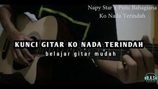 Kunci Gitar Ko Nada Terindah Napy Star x Putu Bahagiana Musik Timur