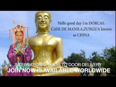 cafe de manila iD2D international Door to Door Delivery
