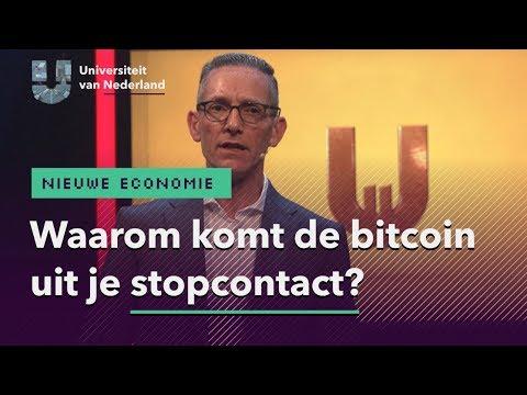Waarom komt de bitcoin uit je stopcontact? | NIEUWE ECONOMIE