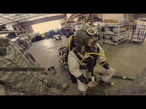 How To Dress In The Mark V Diving Suit
