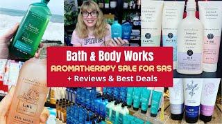 Bath & Body Works Aromatherapy Sale for SAS + Reviews & Best Deals!