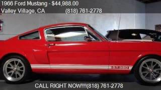 1966 Ford Mustang GT350 modified for sale in Valley Village,