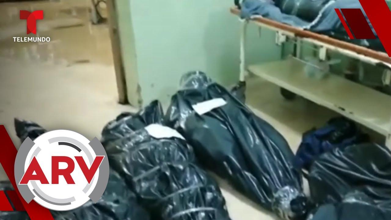 Cadáveres de coronavirus son amontonados en hospital de Perú | Al Rojo Vivo | Telemundo